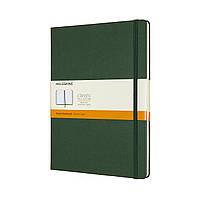 Блокнот Moleskine Classic Большой (19х25 см) 192 страницы в Линейку Миртовый Зеленый (8058647629100), фото 1