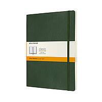 Блокнот Moleskine Classic Большой (19х25 см) 192 страницы в Линейку Миртовый Зеленый Мягкий (8053853600059), фото 1
