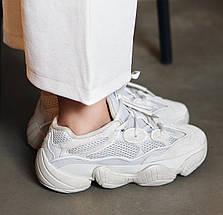 Мужские и женские кроссовки Adidas Yeezy Boost 500 Blush, фото 2