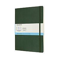 Блокнот Moleskine Classic Большой (19х25 см) 192 страницы в Точку Миртовый Зеленый Мягкий (8053853600080), фото 1