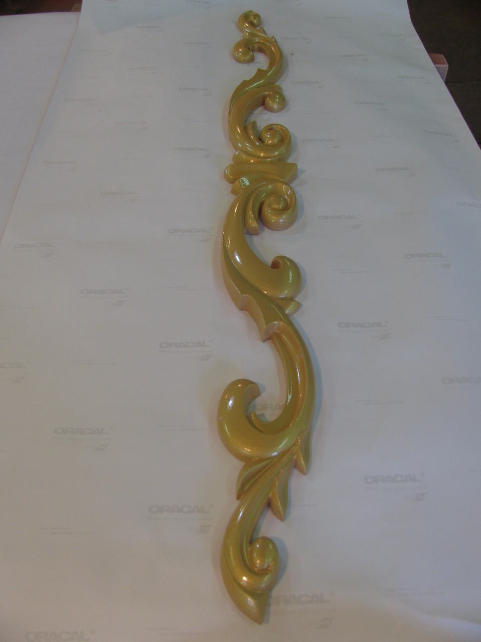 Декор центральний різьблений 100*1200