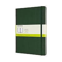 Блокнот Moleskine Classic Большой (19х25 см) 192 страницы Нелинованный Миртовый Зеленый (8058647629117), фото 1