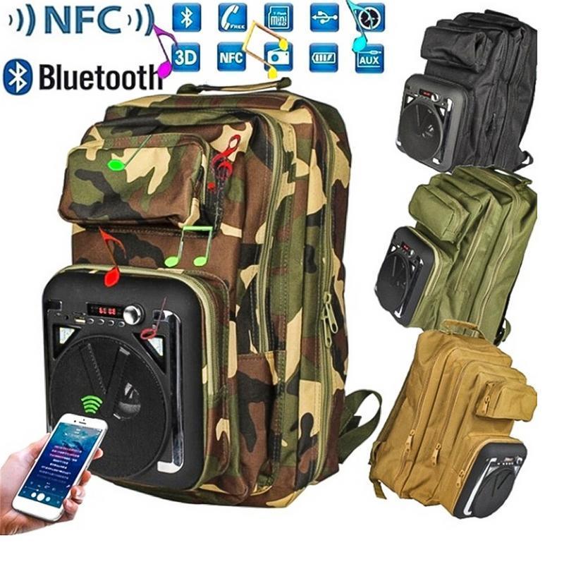 Рюкзак туристический Бумбокс (рюкзак со встроенной колонкой) CH-M34