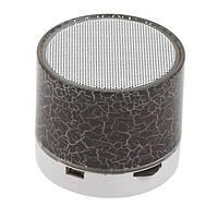 Портативная Bluetooth колонка SPS S60 с LED подсветкой черный, фото 1
