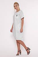 Платье большого размера Риджи 52-58, красивое, фото 1