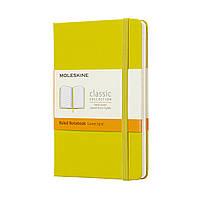 Блокнот Moleskine Classic Карманный (9х14 см) 192 страницы в Линейку Желтый (8058341715260), фото 1