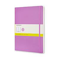 Блокнот Moleskine Classic Великий (19х25 см) 192 сторінки Чисті аркуші Рожевий М'яка обкладинка