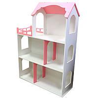 Игрушечный кукольный деревянный домик Макси без лестницы. Обустройте домик для кукол, фото 1