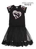 Черное платье в школу тм Моне р-ры 140-146, фото 2