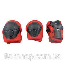 Наколенники, налокотники, нарукавники — комплект защиты для езды на гироскутере, электросамокате, электроскейт, фото 3