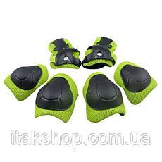 Наколенники, налокотники, нарукавники — комплект защиты для езды на гироскутере, электросамокате, электроскейт, фото 2