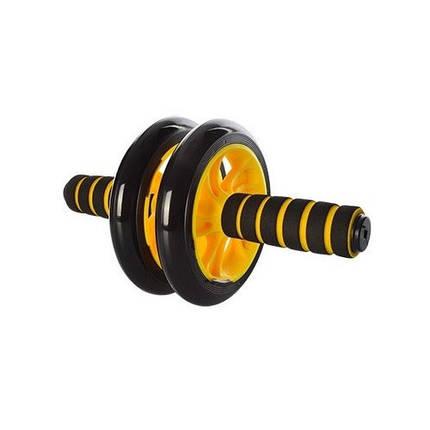 Колесо для мышц пресса (Желтое) 2 колеса MS 0872Y, фото 2