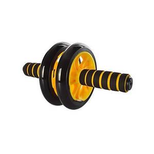 Колесо для мышц пресса (MS 0872Y) 2 колеса Желтое