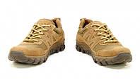 Кросівки літні чоловічі замша 28с койот, фото 1