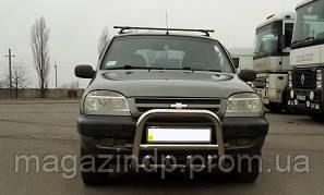 Защита переднего бампера (кенгурятник) Chevlet Niva 06+ Код:95960276