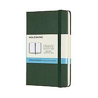 Блокнот Moleskine Classic Карманный (9х14 см) 192 страницы в Точку Миртовый Зеленый (8058647629056), фото 1