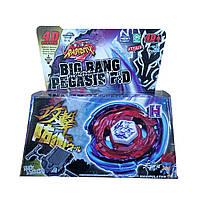 Волчек BEYBLADE Горячий Металл BB105 Big Bang Pegasis F:D