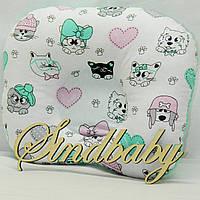 Подушка ортопедическая для новорожденных - 03