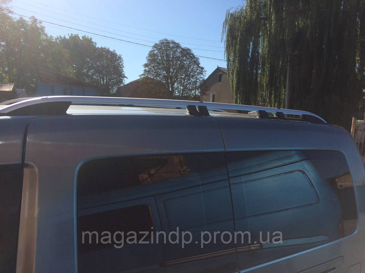 Рейлинги Volkswagen Caddy Maxi (2005-2010) /тип Cwn,Черные Код:315960536