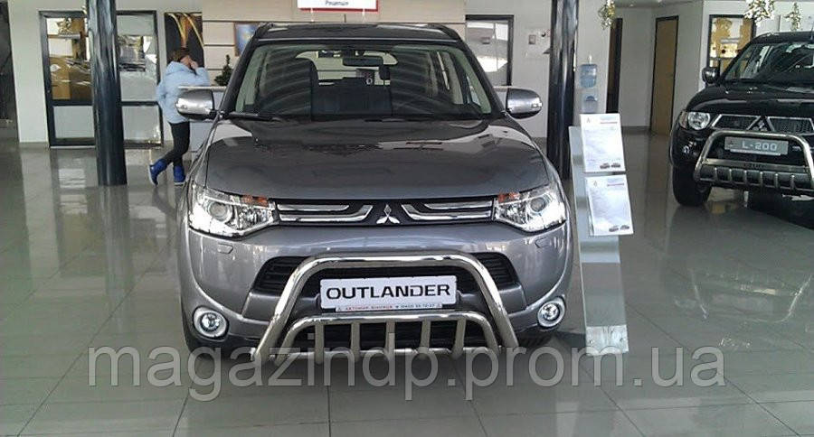 Защита переднего бампера (кенгурятник) Mitsubishi Outlander 2012+ Код:79249703