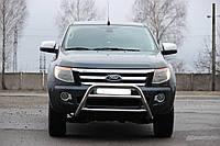 Защита переднего бампера (кенгурятник) Ford Ranger 2012+ Код:79250314