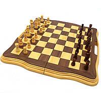 Настольная игра деревянные шахматы с магнитом D5, фото 1
