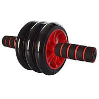 Колесо для мышц пресса (Красное) (3 колеса) MS 0873R
