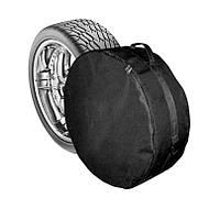 Чехол запасного колеса  R14-15 (64см*21см) М, черный Код:611307793