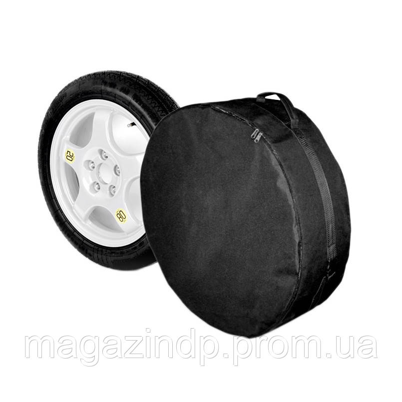 Чехол запасного колеса  R16 тка (66см*16см), черный Код:611307800