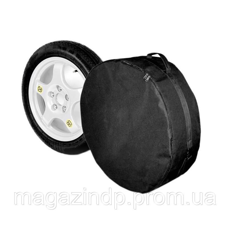Чехол запасного колеса R19 тка (80см*20см), черный Код:611307802