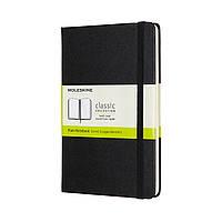 Блокнот Moleskine Classic Медиум (11,5х18 см) 192 страницы Нелинованный Черный (8058647626604), фото 1
