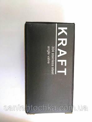 KRAFT кран приборный 1/2-1/2 KRF 302, фото 2
