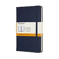 Блокнот Moleskine Classic Медиум (11,5х18 см) 192 страницы в Линейку Сапфир (8058647626666), фото 1