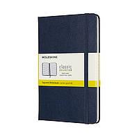 Блокнот Moleskine Classic Медиум (11,5х18 см) 192 страницы в Клетку Сапфир (8058647626673), фото 1