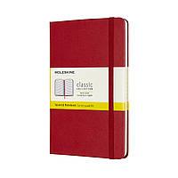 Блокнот Moleskine Classic Медиум (11,5х18 см) 192 страницы в Клетку Красный (8058647626635), фото 1
