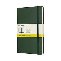 Блокнот Moleskine Classic Средний (13х21 см) в Клетку Миртовый Зеленый (8058647629087), фото 1
