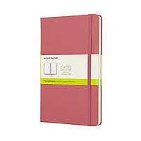 Блокнот Moleskine Classic Средний (13х21 см) 240 страниц Нелинованный Пастельно-Розовый (8058341715413), фото 1