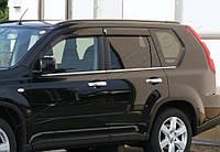 Nissan X-Trail (2006-2008) Молдинги стекол нижние 6шт Код:705735358