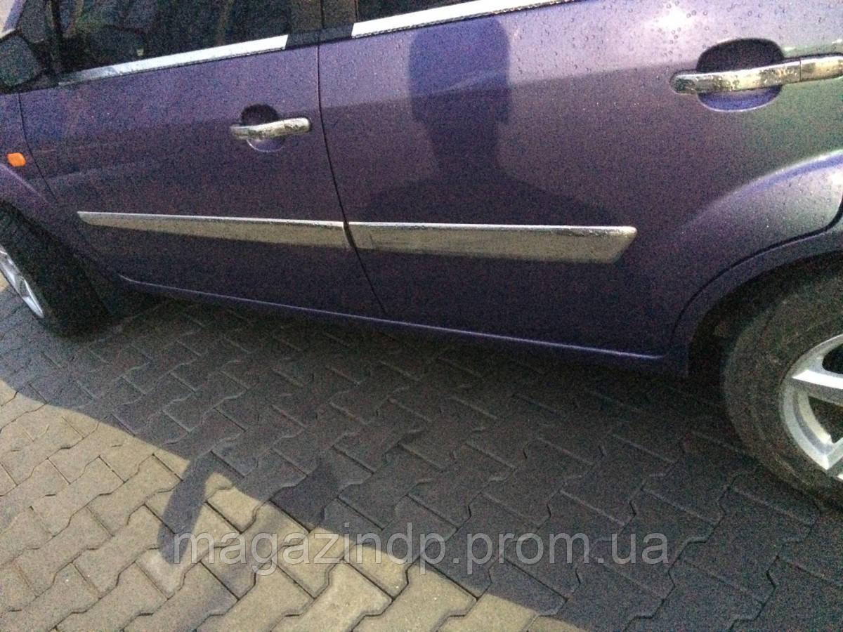 Ford Fiesta 5D (2002-2006) Молдинг дверной 4шт Код:705735923