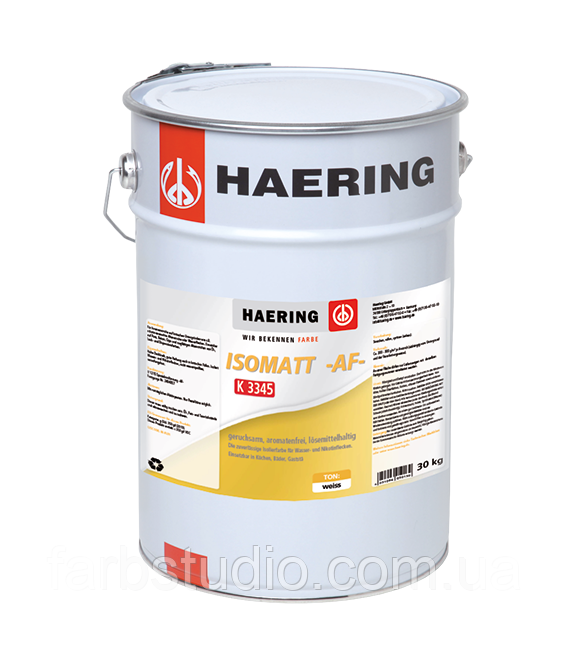 Антикоррозийная гyрунтующая краска Haeralkyd 1К K5 для защиты металлических поверхностей Haering