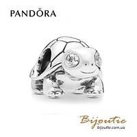 Шарм Pandora ЧЕРЕПАШКА #797878CZ серебро 925 Пандора оригинал