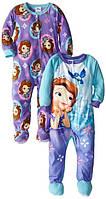 Флисовые пижамы Disney Princess  (2 шт). 2 года