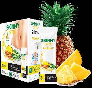 Skinny Stix - Стіки для схуднення (Скінні Стікс Ананас), фото 2