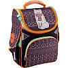 Каркасный рюкзак GoPack 34х26х13 см 11 л для девочек Коричневый (GO18-5001S-4)