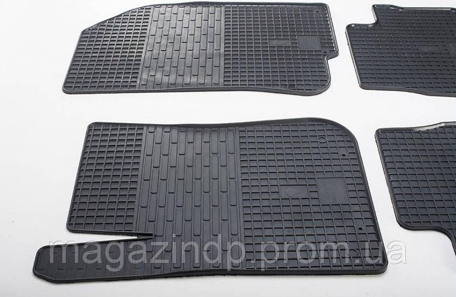 Коврики в салон для Peugeot 308 08-/Citen C4 11-/Citen DS4 11- (передние - 2 шт) 10160121F Код:74315544