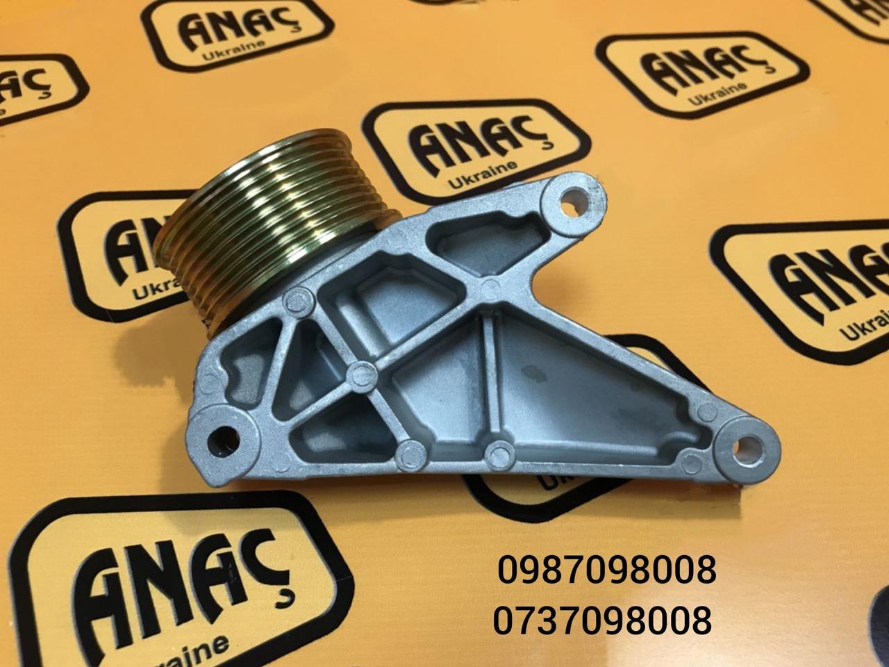Ролик натяжной, для двигателя на JCB 3CX, 4CX ,  номер : 320/08586, 320/08588, 320/08724, 320/08587