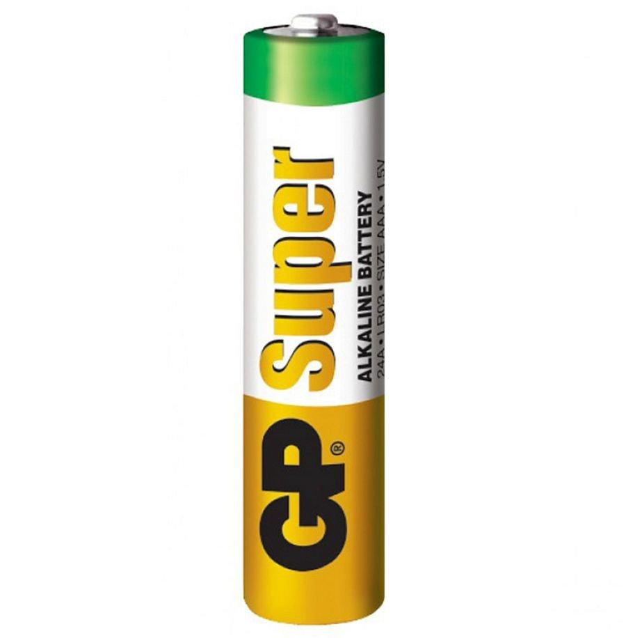 Батарейка Gp aaa Lr03 Super Alkaline 24a 1.5v, Green
