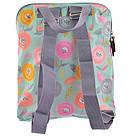 """Рюкзак молодежный YES ST-26 """"Daisy"""" для девушек бирюзовый с рисунком (сумка-рюкзак), фото 4"""