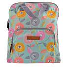 """Рюкзак молодежный YES ST-26 """"Daisy"""" для девушек бирюзовый с рисунком (сумка-рюкзак), фото 5"""