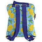 """Рюкзак молодежный YES ST-26 """"Citrus"""" для девушек голубой с рисунком, фото 4"""